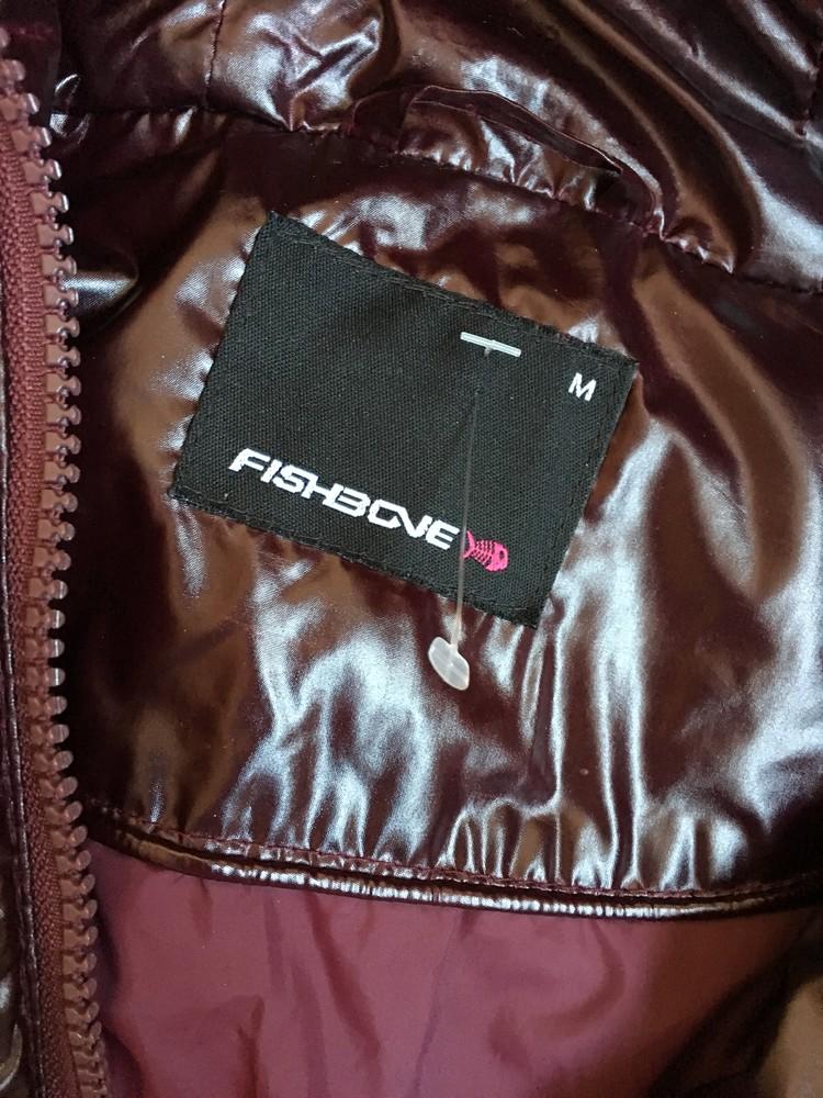 Куртка зимняя пуховик fishbone. как новый! фото №4