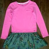 Платье теплое хлопок  Next на 9 лет(134см).