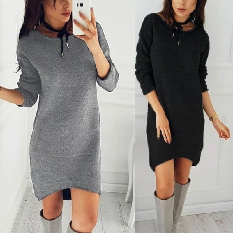 Платье на меху очень теплое, супер-дизайн фото №1