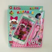 "интерактивный детский телефон караоке ""лол"""