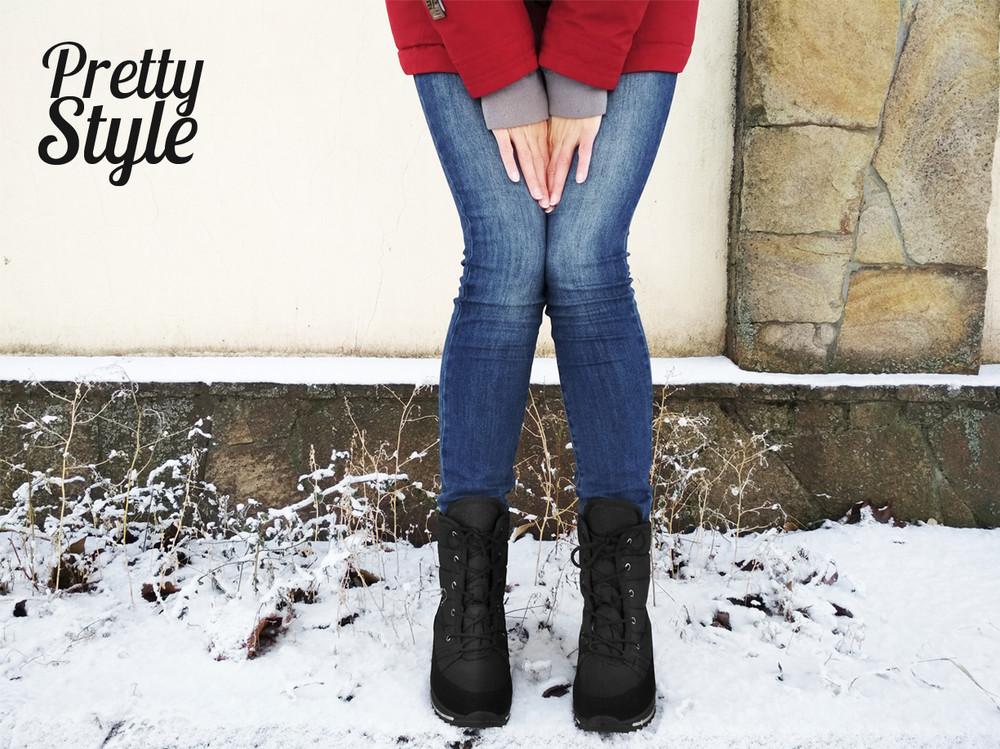 Дутики женские зимние ботинки угги pretty style 2 фото №1