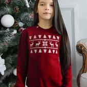 світшот різдвяний для дівчинки