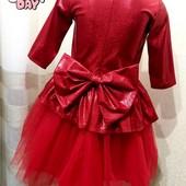 Шикарное платье к праздникам Галлограмма в ассортименте от производителя 104-128