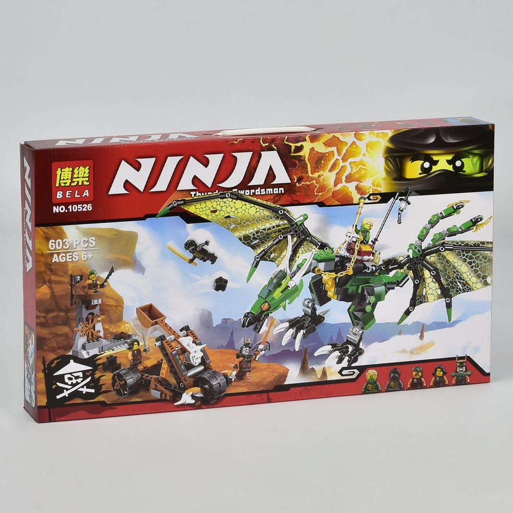 Конструктор бела нинзя 10526 bela ninja зеленый дракон нинзяго ninjago фото №3