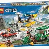 Конструктор Bela Cities 10864 Ограбление у горной реки ,409 деталей