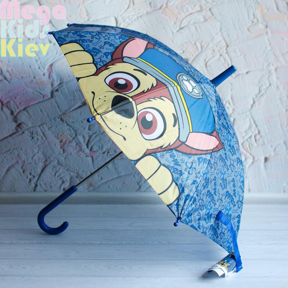 Оригинал! зонт щенячий патруль для мальчика. гонщик фото №1