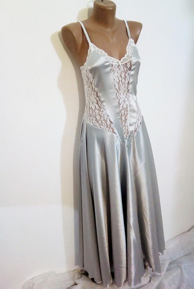 Элегантная женская ночнушка с юбкой солнце в стиле mаrry me фото №1