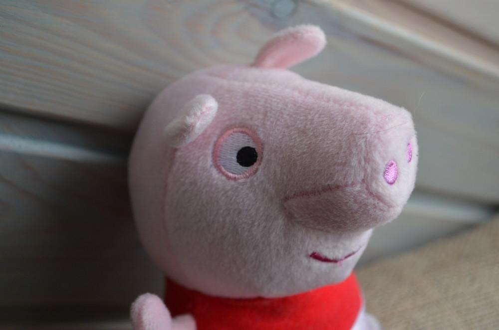 Свинка пеппа peppa pig говорящая ор-л фото №2
