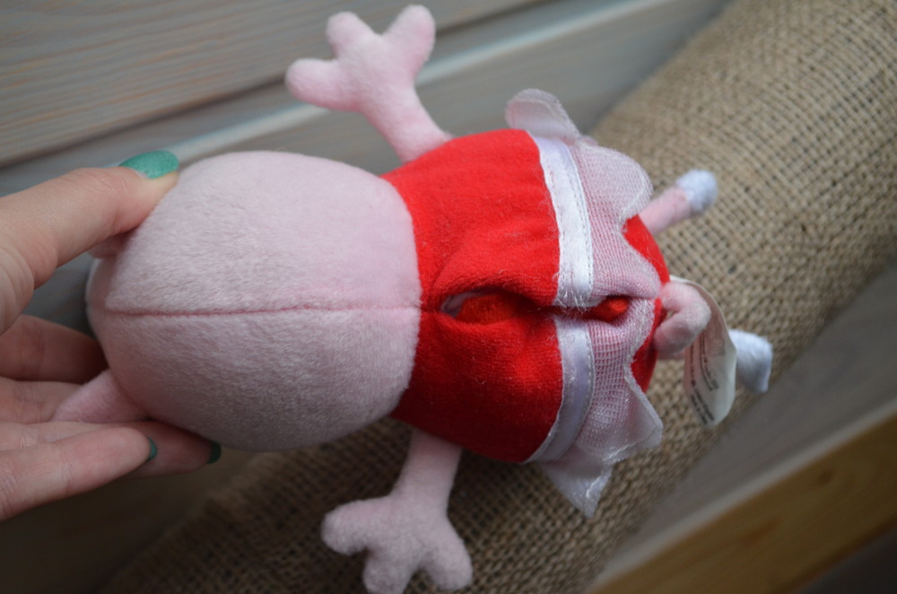 Свинка пеппа peppa pig говорящая ор-л фото №4