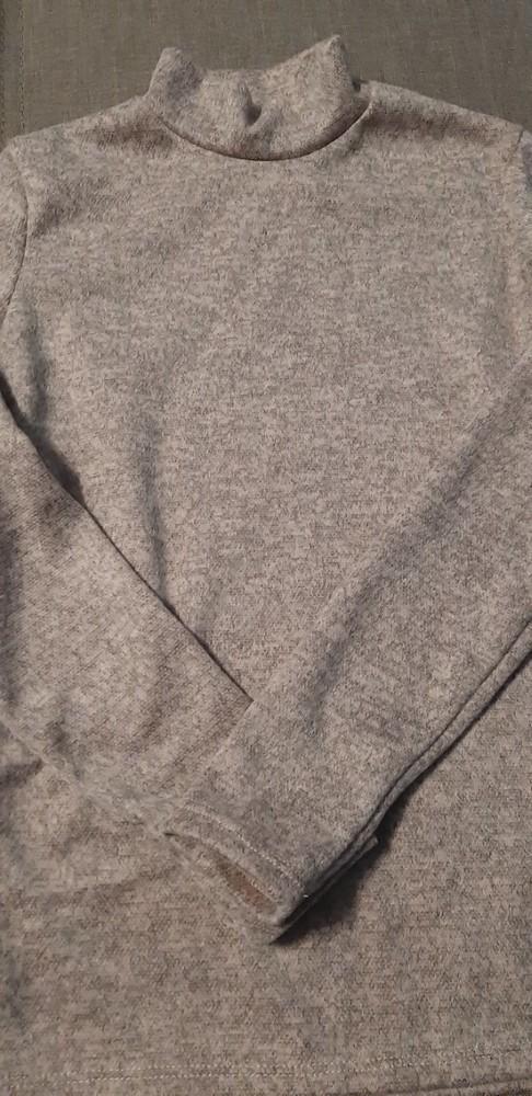Ангоровый тепленький гольф цвета пудра, р. 44 фото №2