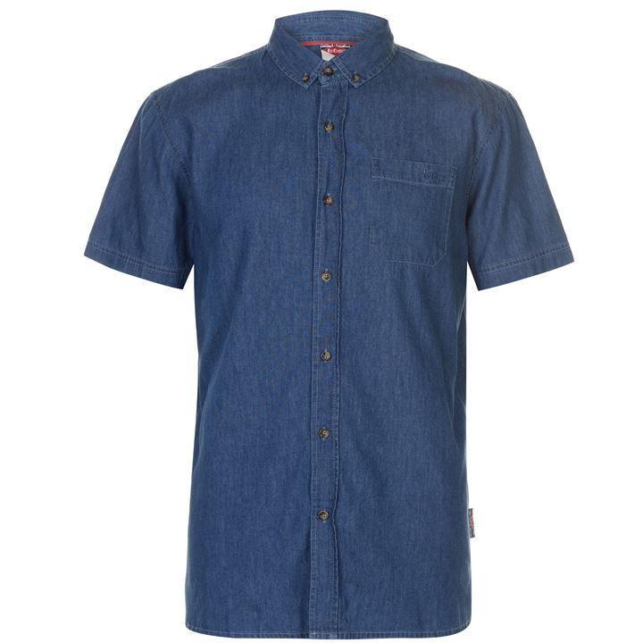 Рубашка с коротким рукавом lee cooper оригинал фото №1