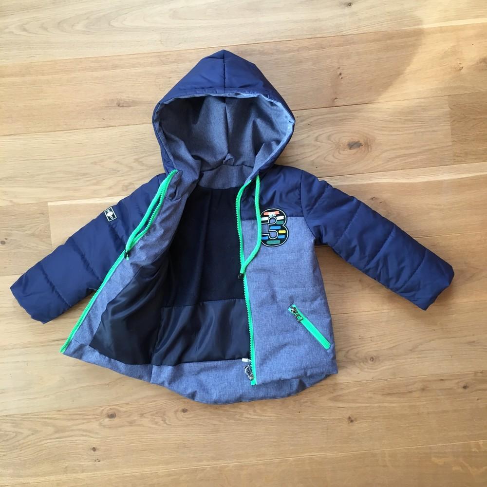 Весенняя курточка на мальчика 3 - 7 лет | есть замеры 98, 104, 110, 116 фото №1