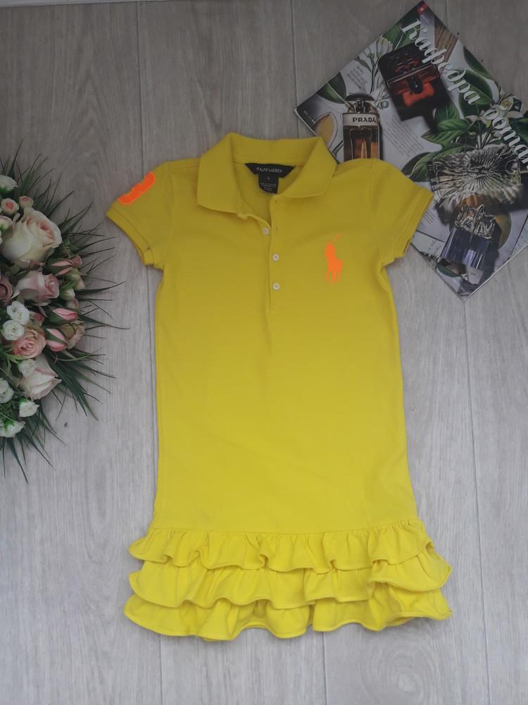 Платье поло 5 лет ralph lauren оригинал фото №1
