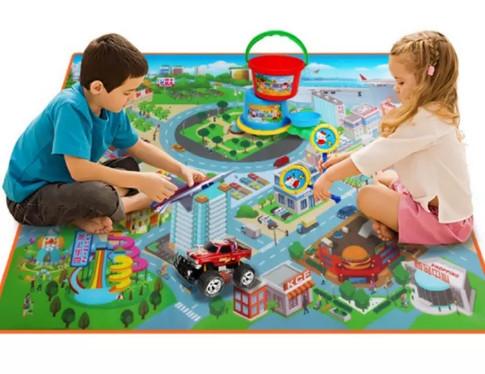 Детский игровой коврик фото №1