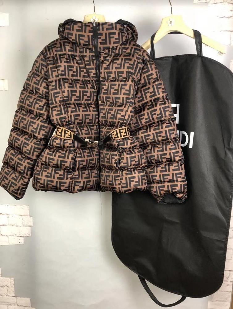 Женская курточка fendi люкс фото №1