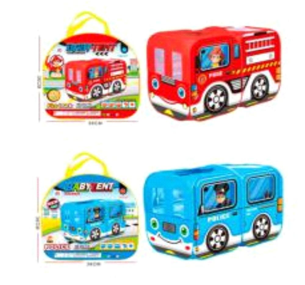Палатка m 5783  автобус,128-68-85см, 1вход, окна-сетки, 2вида, в сумке,33-36-5см фото №1