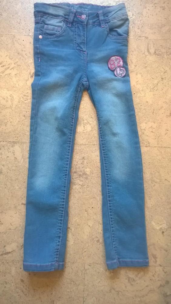 Новые модные джинсы на девочку 2-14 лет фото №1