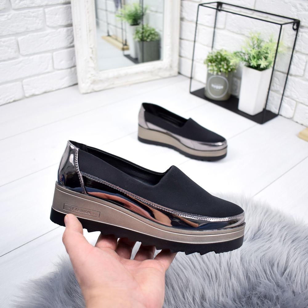 Туфли на танкетке фото №1