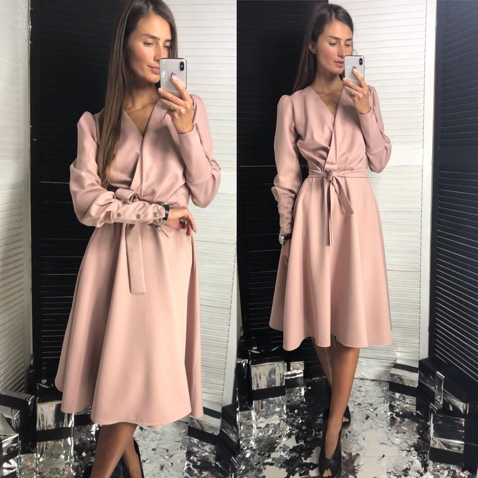 Женское классическое платье фото №1