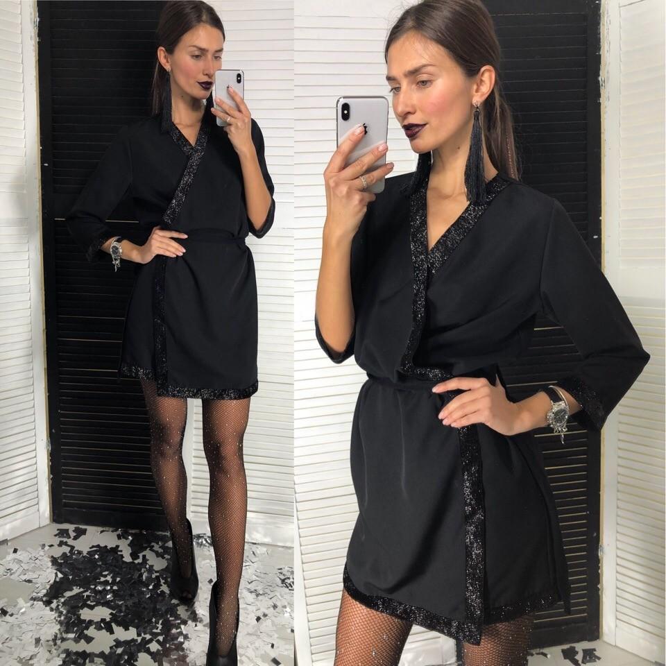 Короткое платье-халат фото №1