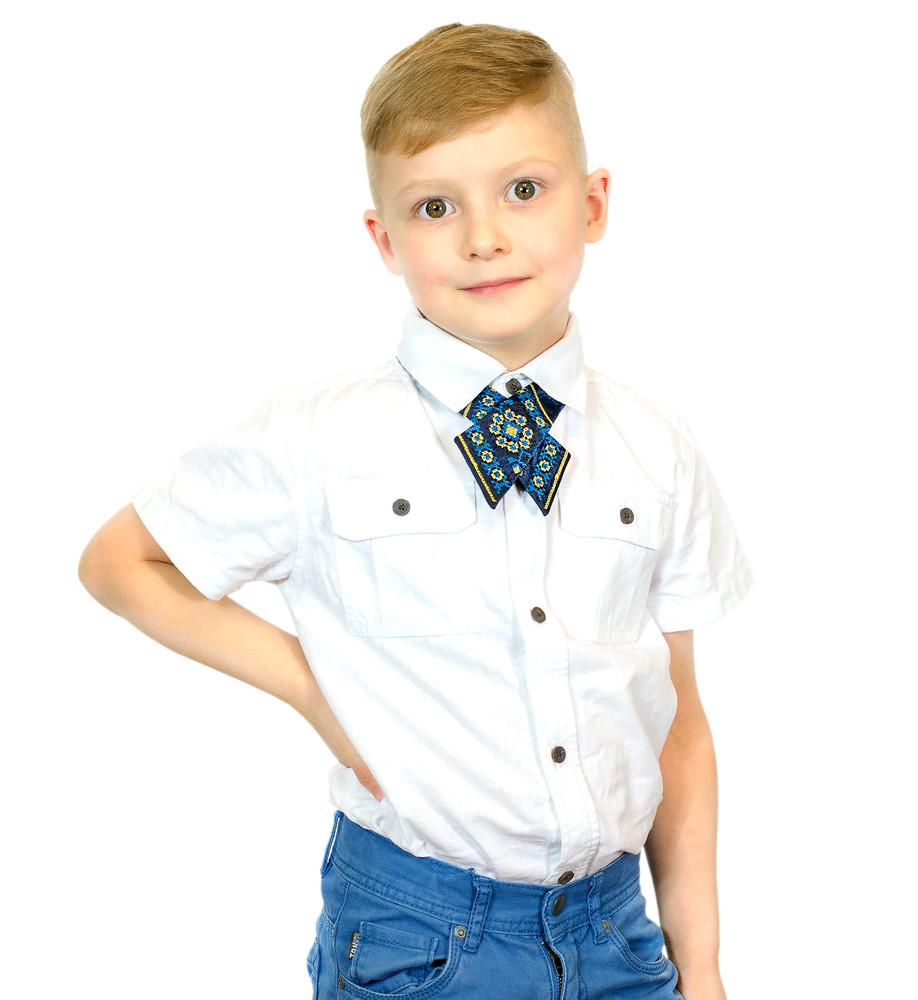 Дитяча крос-краватка з вишивкою милан фото №1