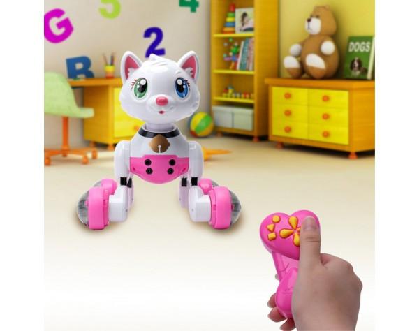 Кошка-робот cindy на радиоуправлении (mg013) интерактивная фото №1