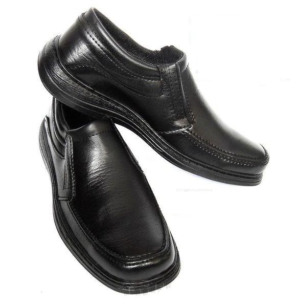 Мужские туфли черные - туфлі чоловічі чорні фото №1