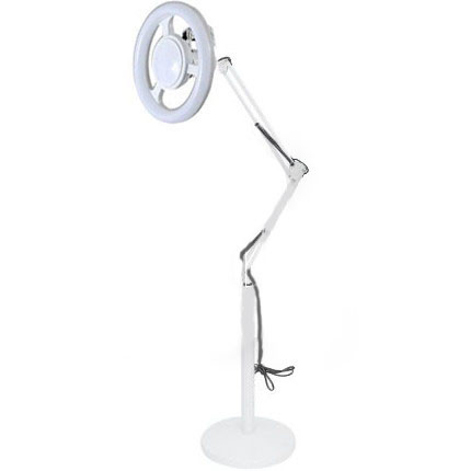 ✅ лампа напольная кольцевая со светодиодной подсветкой sp-35 на штатив-подставке фото №1