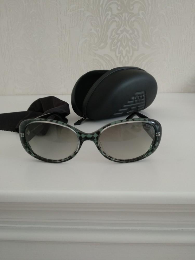 Крутые классические женские солнцезащитные очки armani emporio оригинал , фото №1