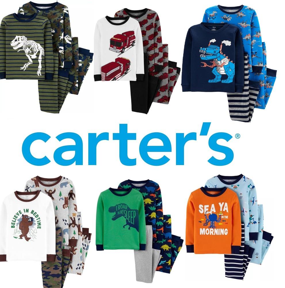 2-14 лет трикотаж хлопок, легкие качественные пижамы картерс, carters фото №1