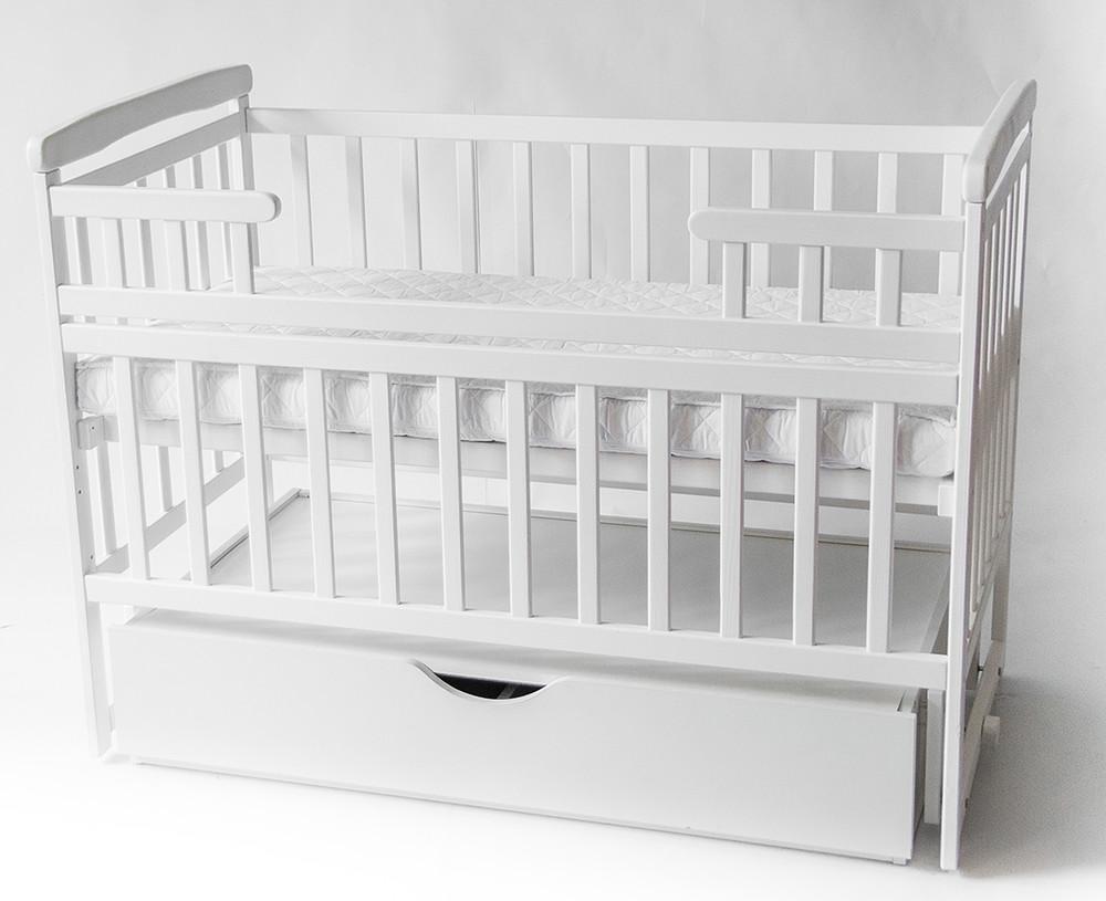 Кроватка-трансформер deson с ящиком 3 цвета фото №1