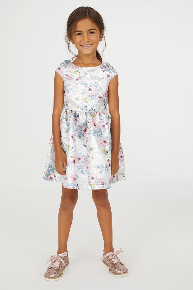 Нові нарядні жакардові плаття h&m розм. з 3-4 р./104 по 7-8 р./128 в наявності фото №1