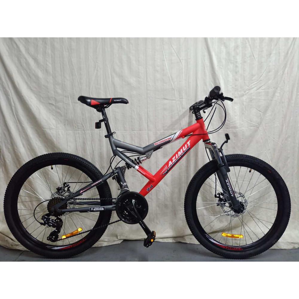 Азимут скорпион 24 велосипед мтв подростковый azimut scorpion gfrd фото №1
