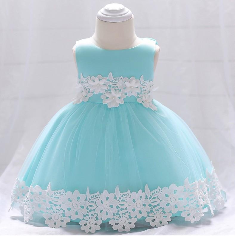 Нарядное платье на годик. р 70-90 разные цвета фото №1