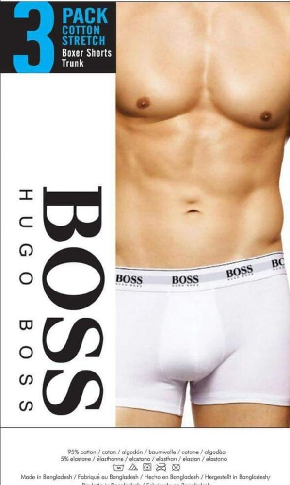 Новые трусы боксеры мужские hugo boss m,l,xl фото №1