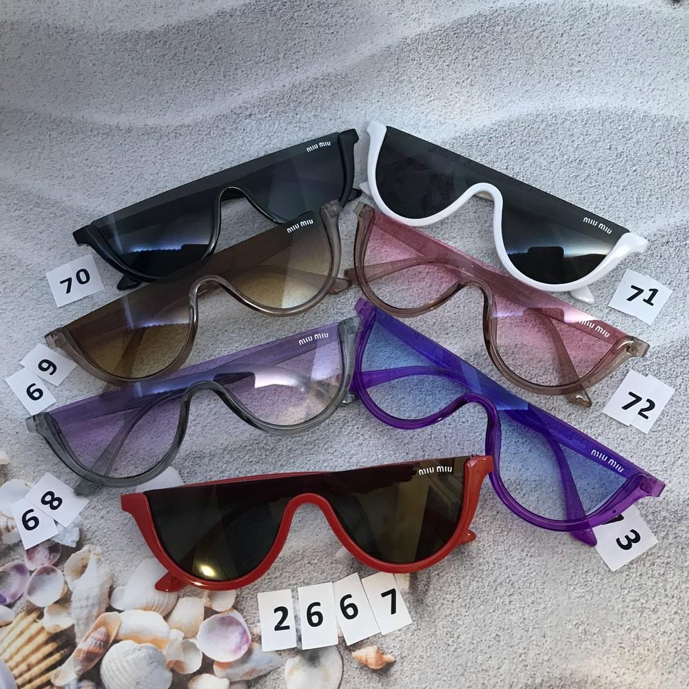 Трендовые солнцезащитные очки miu miu фото №1