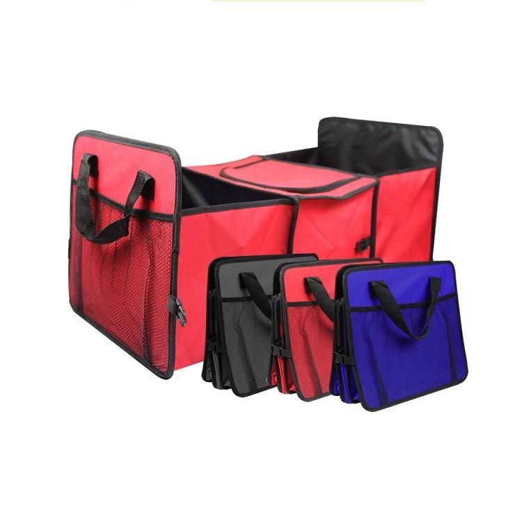 Сумка-органайзер в багажник авто с термоотделением фото №1
