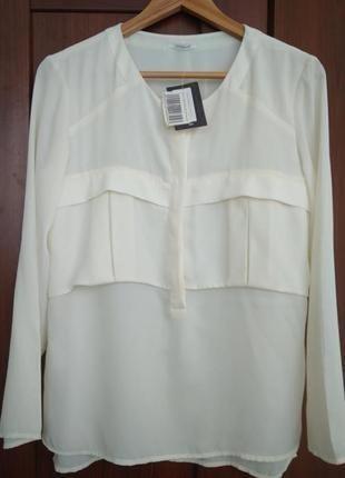 Блуза promod необычного кроя фото №1
