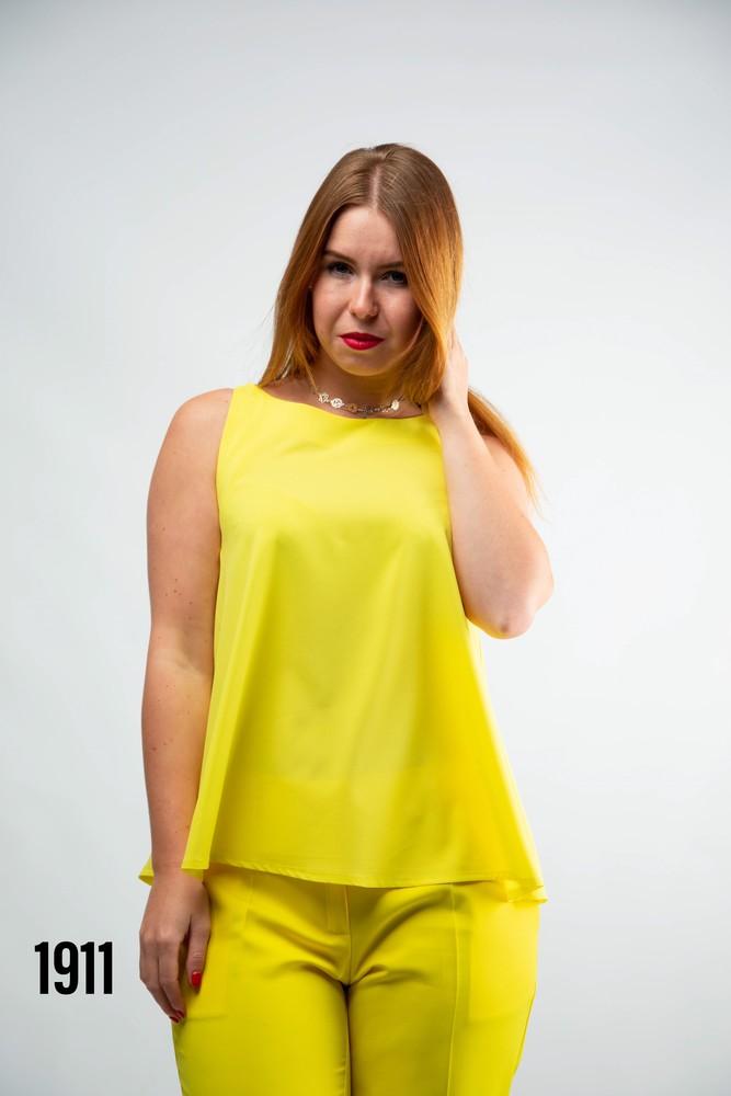 Блуза женская без рукавов от бренда adele leroy. фото №1