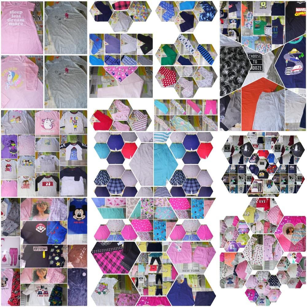Пижамки,штанишки,шортики,регланы,ночнушечки,маечки, футболочки,0-16 лет,англия!! фото №1