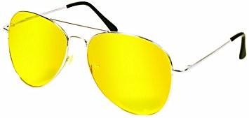 Желтые водительские очки антифары фото №1
