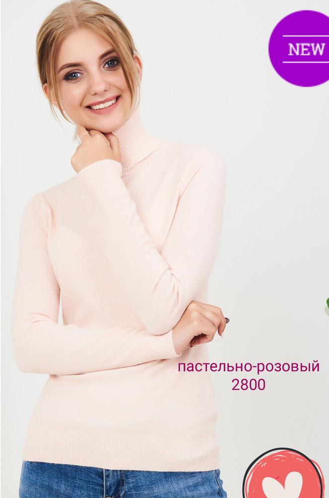 Гольф милано новинки 2019,цвет пастельно-розовый фото №1