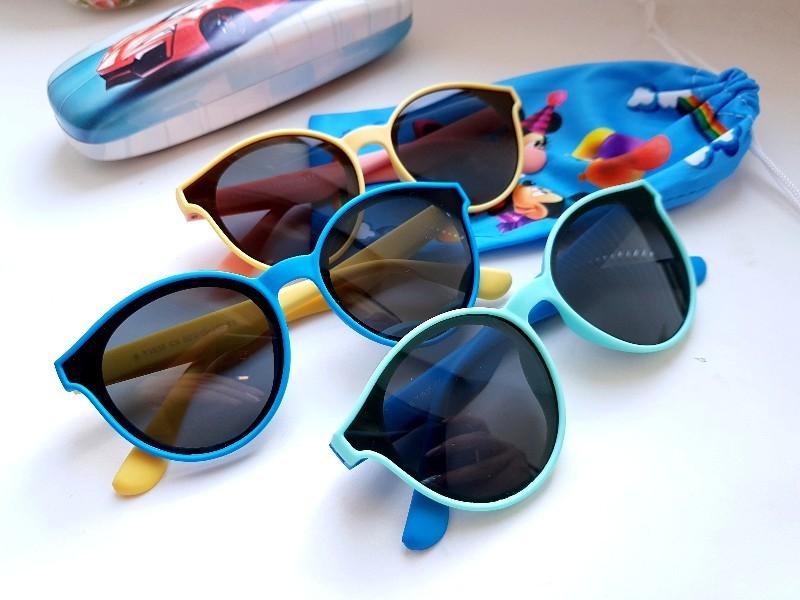 Детские гибкие очки- polarized  . возраст 5+ фото №1
