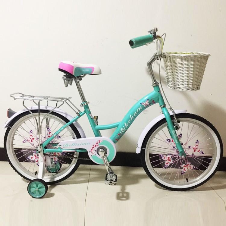 Белисима 16 велосипед двухколесный с корзинкой для девочки bellisima фото №1