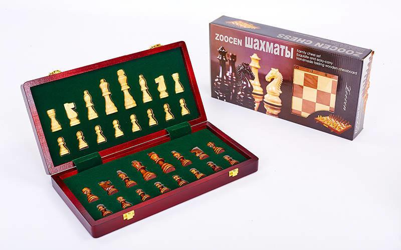 Настольная игра деревянные шахматы 3118: размер доски 35х35см фото №1