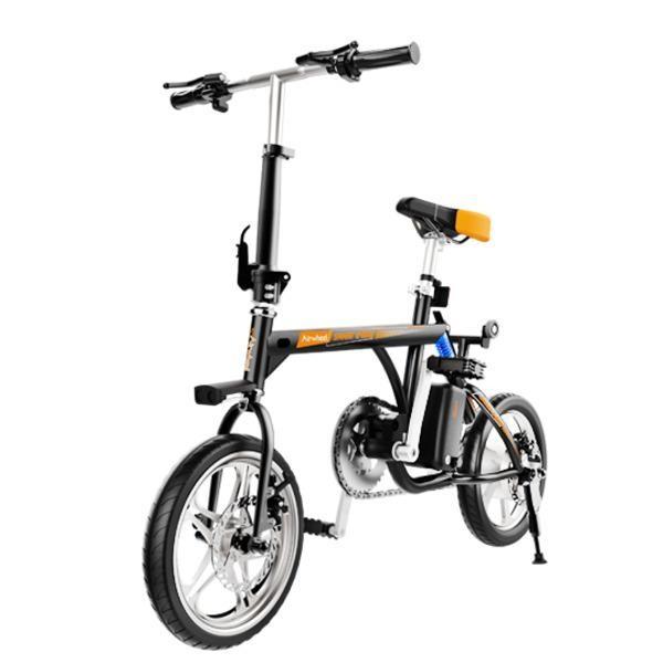 Электровелосипед airwheel r3+ 214.6wh (черный) фото №1