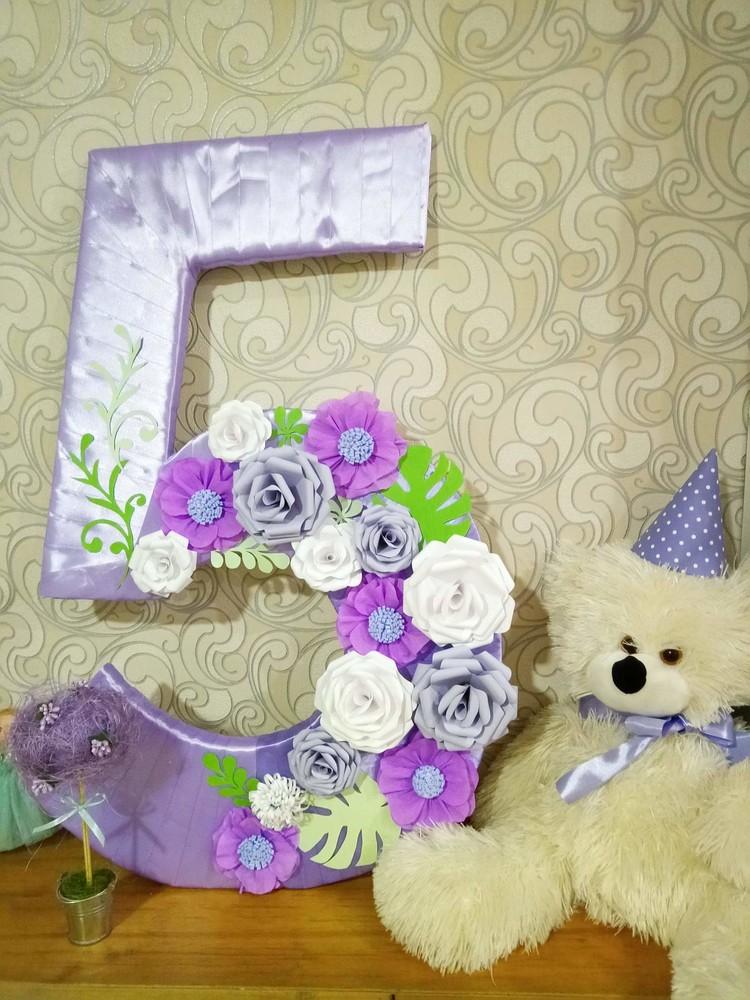 Цифра 5 на день народження фото №1