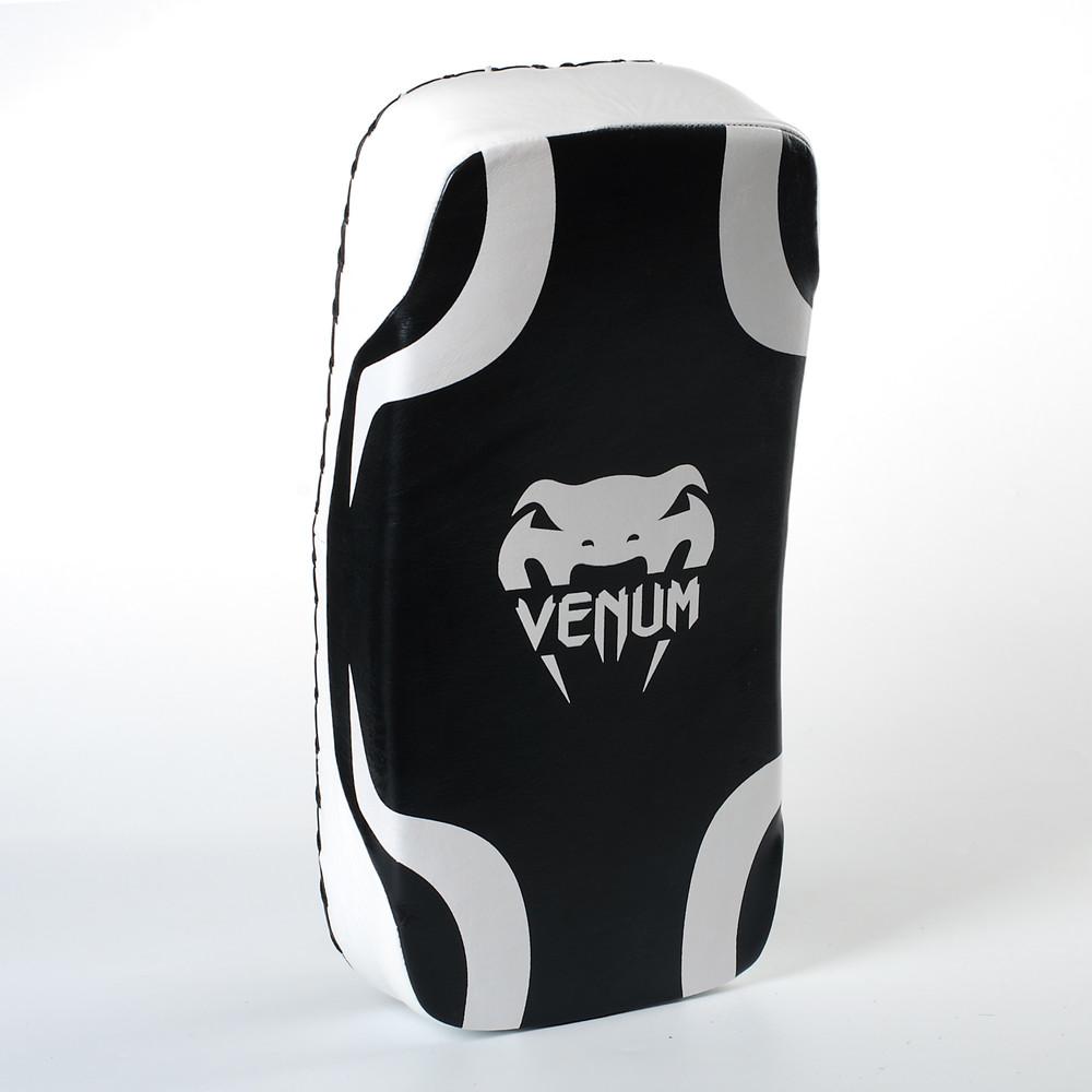 Макивара изогнутая кожаная боксерская venum 8334: размер 40x20x8см фото №1