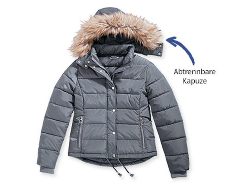 Женская стеганая куртка blue motion, холодная осень - еврозима р. s 36/38 евро фото №1
