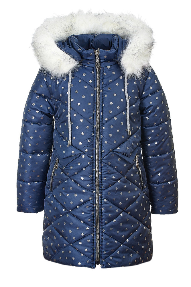 Зимняя куртка для девочки 6-9 лет, 5421 фото №1